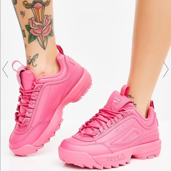 Fila Shoes | Fila Candy Hot Pink